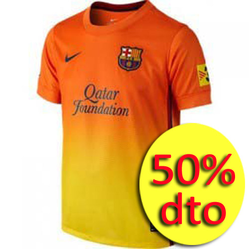 FCB BOYS SS AWAY REPL JSY
